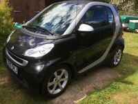 Smart Car ForTwo + Trailer