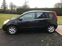 2007 NISSAN NOTE 1.6 PETROL AUTOMATIC