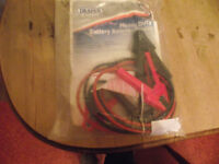 Draper Expert 3M x 16mm Heavy Duty Battery Booster Cables/Jump Leads JL16 51874 (Brand New)