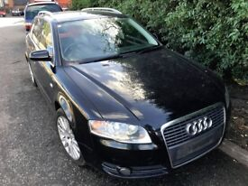 AUDI A4 2006 2.0 DIESEL manual BLACK FOR 'BREAKING' AVAILABLE ALL PARTS