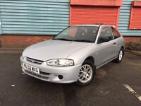 2002 Mitsubishi Colt ATTIVO 1.3, 1 Owner From New, Only 59K Miles, (Not Toyota, Honda, Nissan)