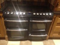 Belling dual fuel stove.needs a little talc.price £200