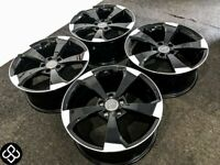 """BRAND NEW 19"""" AUDI RS SLINE STYLE ALLOY WHEELS - ALSO AVAILABLE WITH TYRES - 5 x 112"""