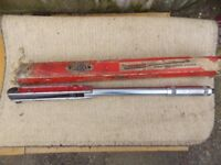 Britool torque wrench like new aprt from the box it comes in bargain £30