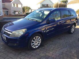 Vauxhall Astra 1.6 design estate,new mot