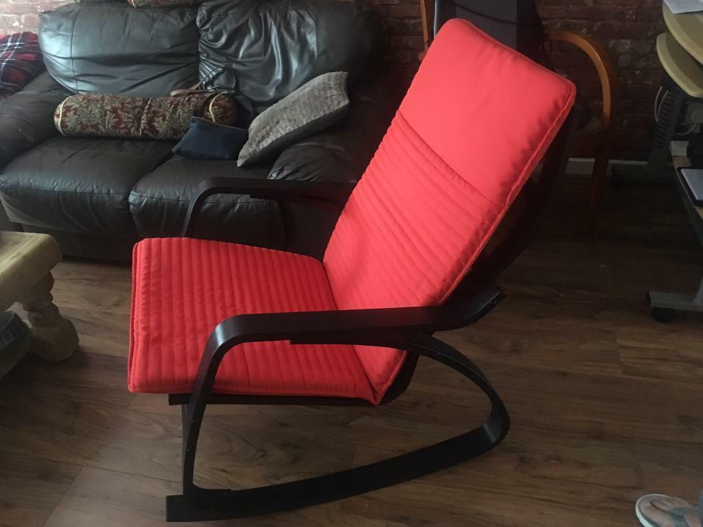 Swell Ikea Prong Adult Rocking Chair In Heathrow London Gumtree Spiritservingveterans Wood Chair Design Ideas Spiritservingveteransorg