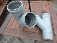 soil pipe double socket Y