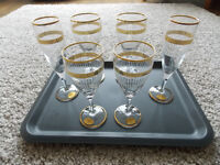6 QUALITY WINE GLASSES, Brand New, Never Used