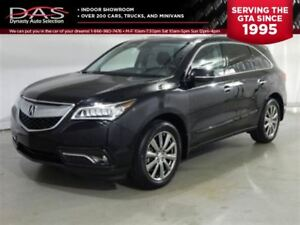 2015 Acura MDX Navigation Package/Sunroof/Leather