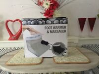 Foot Warmer and Massager