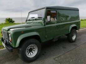 Land Rover Defender Td5 110. 52 plate. Hard top. 129k miles. Green. Long MOT.