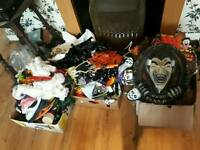 3 boxes of halloween party