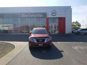 2014 Nissan Pathfinder SL TECH 1 OWNER LOCAL TRADE