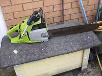"poulan countervibe 3400 chainsaw 56cc 18"" inch bar"