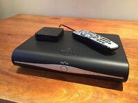 SKY+ HD Box 250GB plus wireless connector