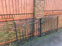 Set Of Well Built Galvanised Driveway Gates ( Can Deliver )