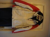 Parallel Ladies sking jacket and trousers