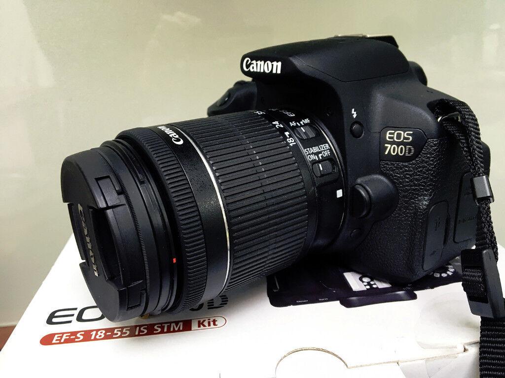 Canon EOS 700D Digital SLR Camera