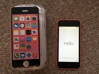 iPhone 5C - 8gb - pink - unlocked - excellent condition