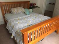 SOLD——- King size bed