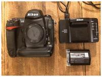 Nikon D3 Camera Body - shutter count only 6362