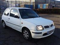 1998 (S Reg) Nissan Micra 1.0 16v Equation 3dr For £395, SOLD WITH 12 MONTHS MOT