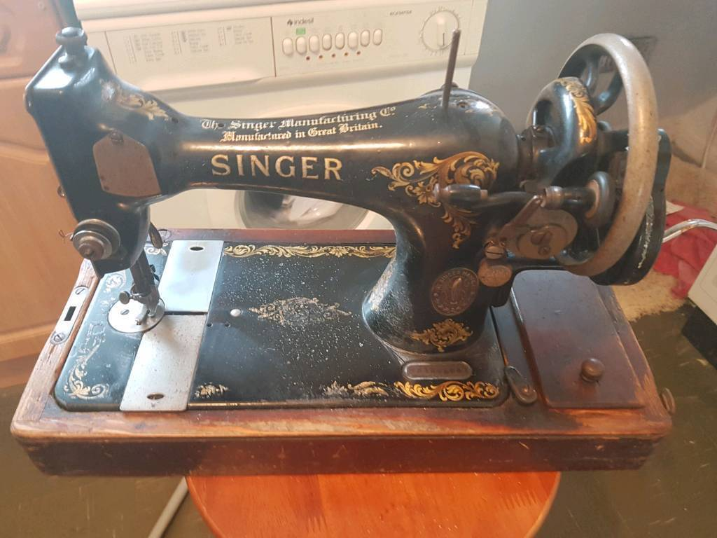 Singer sewing machine vintage