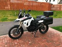 2011 BMW F800GS Motorcycle