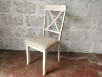 Julian Bowen Davenport Dining Chair, White