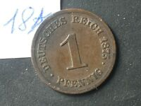 Moneta Antica Germania 1 Pfennig 1875 -  - ebay.it
