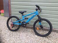 "20"" Boys BTWIN Racing Boy 520 full suspension mountain bike for sale"