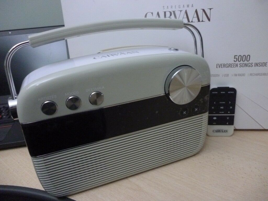 digital audio saregama carvaan, 5000 bollywood songs, fm  radio,usb,bluetooth,famous legends singers | in Stanmore, London | Gumtree