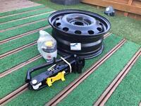 Ford Fiesta spare wheel kit