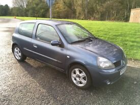 05 Renault Clio Extreme 1.2 Petrol 12 Months MOT only 66k Miles