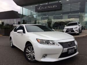 2013 Lexus ES 350 Premium Pkg Bluetooth Backup Cam Sunroof