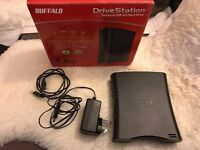 Buffalo Drivestation 1TB USB 2.0 External Hard Drive in Box Excellent condition