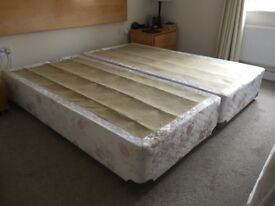 2 x bed bases FREE