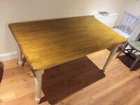 Farmhouse dining table for sale!