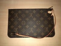 Genuine Louis Vuitton clutch wallet