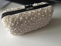 Bridal clutch bag from Reiss