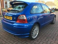 2001 51 MG ZR 1.4 + 3DR HATCHBACK BEST COLUR M.O.T 05/05/2018