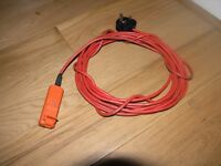 Black and Decker Lawnmower Cable 7 metres Long Weymouth