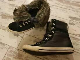 Ladies Next Trainer Boots Size 3.5
