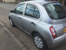 NISSAN MICRA 2004 FULL YEAR MOT EXCELLENT CONDITION
