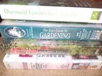 Garden selection including Diarmuid Gavin VHS videos x 4