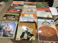 Vinyls LPs classical music total 37