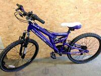 MuddyFox Venus Dual Suspension 24'' Girls Bike