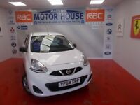 Nissan Micra VISIA(AUTOMATIC) FREE MOT'S AS LONG AS YOU OWN THE CAR!!!! (white) 2014