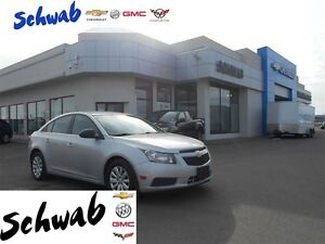 2011 Chevrolet Cruze LS+ W/1SB, Bucket Seats, CD / MP3 Player