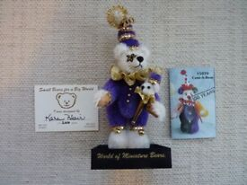 World of Miniature Jester Bear
